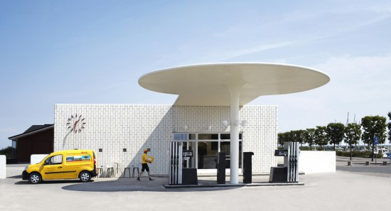 DHL Arne Jacobsen petrol station