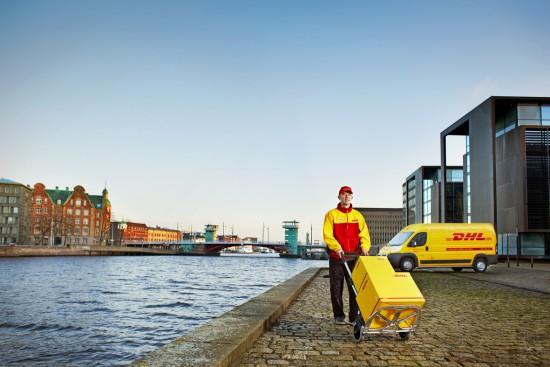 DHL Copenhagen Denmark